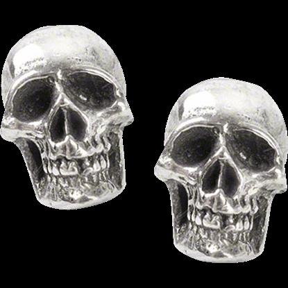 Mortuarium Skull Stud Earrings