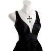 Black Rosifix Necklace