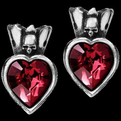 Claddagh Heart Earrings