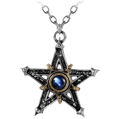 Medieval Pentacle Necklace