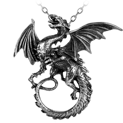 The Whitby Wyrm Necklace