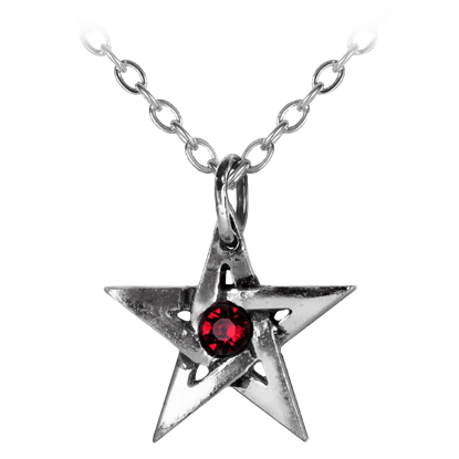 Crystal Pentagram Necklace