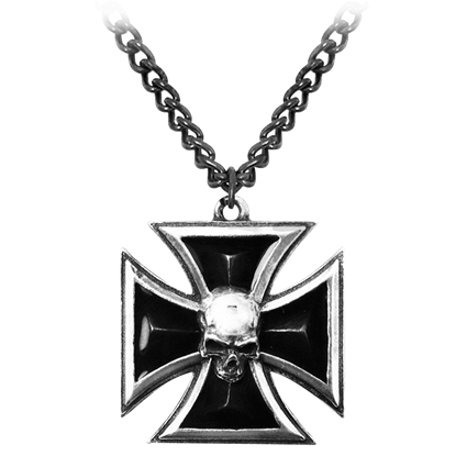 Black Knight's Cross Necklace