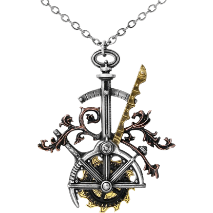 The Steam-Saw Trepanator Necklace