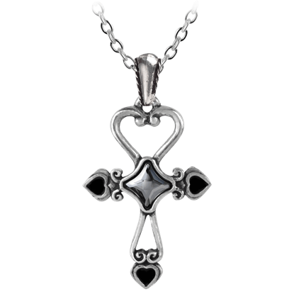 Amour Ankh Necklace