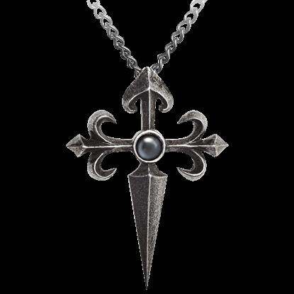 Santiago Cross Necklace