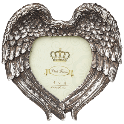 Angel Heart Photo Frame