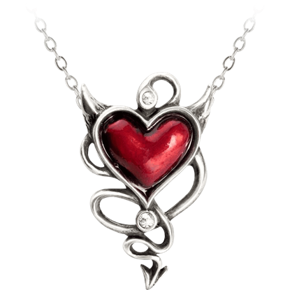 Wicked Heart Necklace