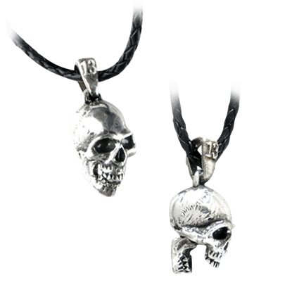 Trap Jaw Skull Necklace