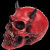 Crimson Demon Skull