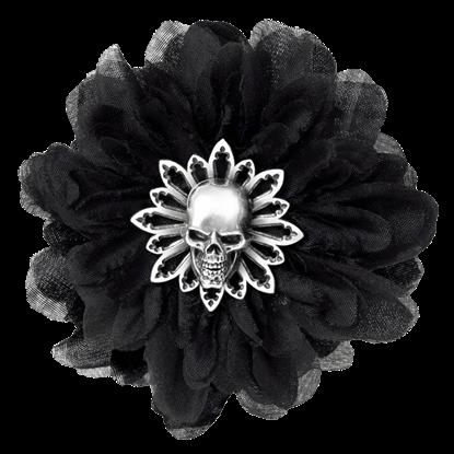 Black Dahlia Hair Clip