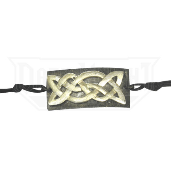 Antiqued Silver Celtic Knot Bracelet