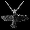Black Raven Necklace