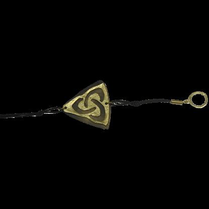 Brass Triquetra Bracelet