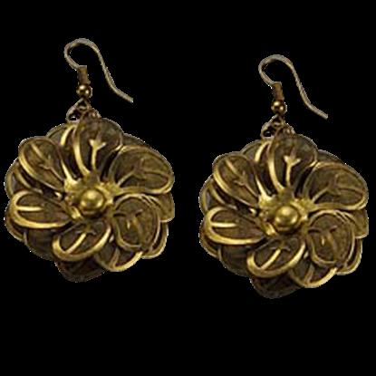 Golden Blooms Earrings