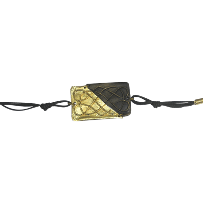 Brass Knotwork Artisan Bracelet