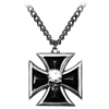 Black Knight's Cross Necklace