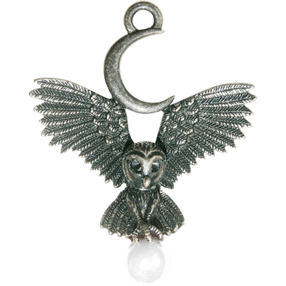 Flight of the Owl Necklace
