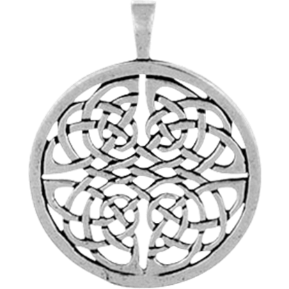 Knotted Celtic Circle Necklace