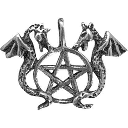 Dragons Pentacle Necklace