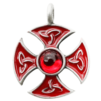 Templar's Consecration Cross Necklace