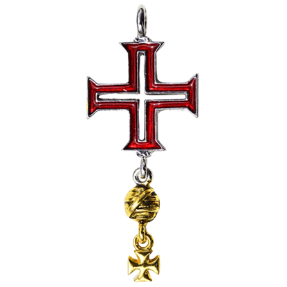 Tomar Cross Templar Necklace