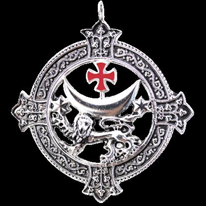 Templar Lion Necklace