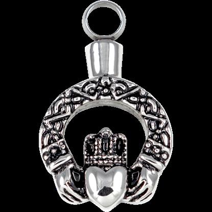 Claddagh Keepsake Necklace