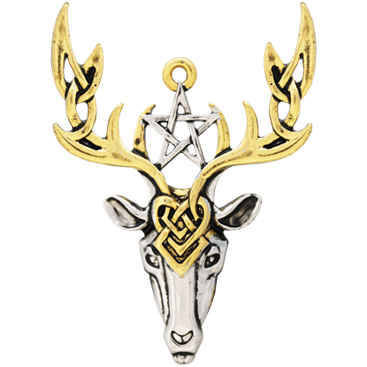 Beltane Stag Necklace