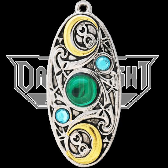 Moon Shield Necklace