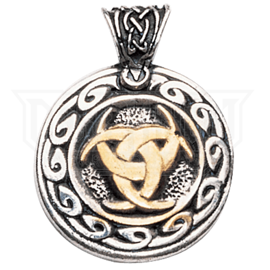 Moon Trefoil Necklace