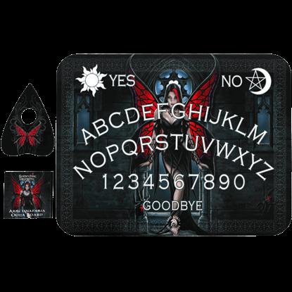 Arachnafaria Ouija Board by Anne Stokes