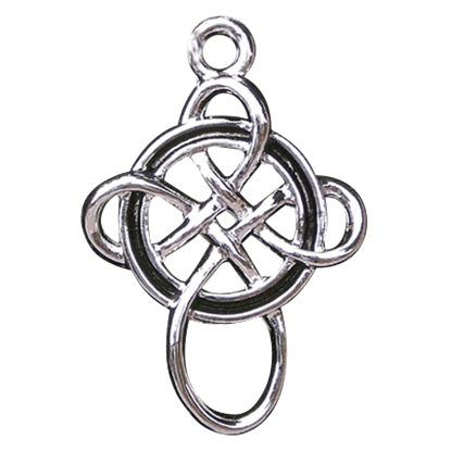 Crossover Celtic Knot Necklace