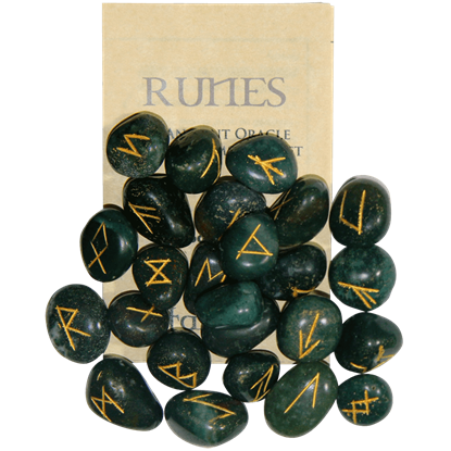 Bloodstone Set of Rune Stones