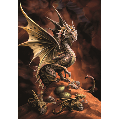 Desert Dragon Cards 6 Pack