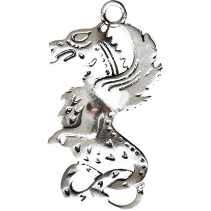 Celtic Dragon Charm