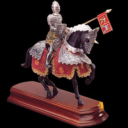 Spanish Knight on Horseback