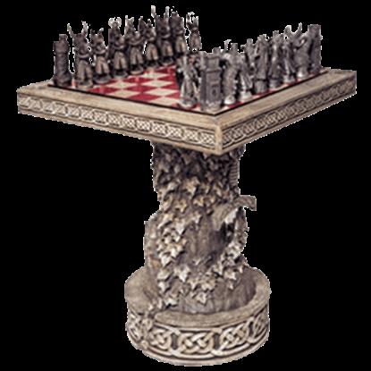 Arthurian 32-Piece Chess Set