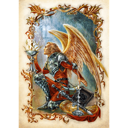 Angelic Grail Quest Cards by Briar