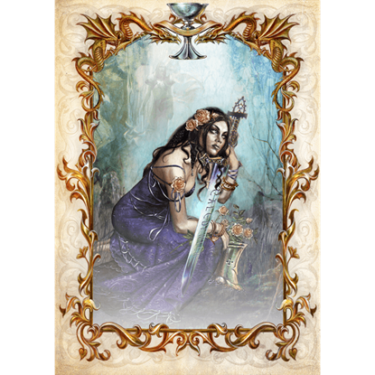 Galahad's Prayer Cards by Briar