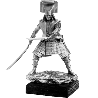 Pewter Daimyo Sculpture