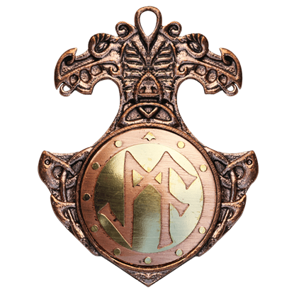 Bindrune Necklace for Personal Success