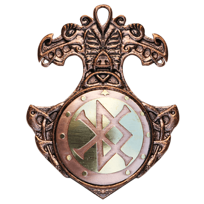 Bindrune Necklace for Ambition and Fulfillment