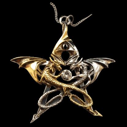 Draca Stella Carpe Noctum Necklace