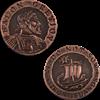 Balon Greyjoy Copper Star Coin