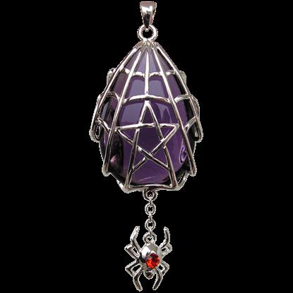 Spyder Star Crystal Keeper Necklace