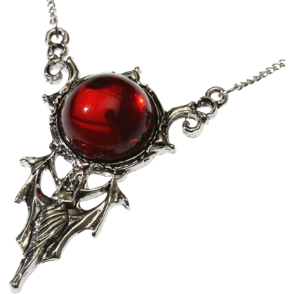 Blood Moon Vampire Necklace
