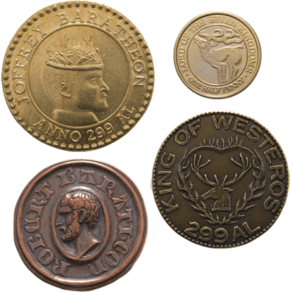 House Baratheon Coin Set
