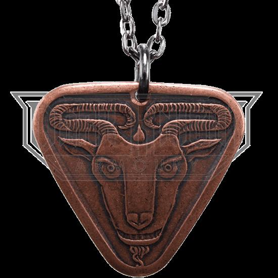 Black Goat of Qohor Necklace