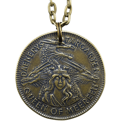 Daenerys Targaryen Meereen Coin Necklace